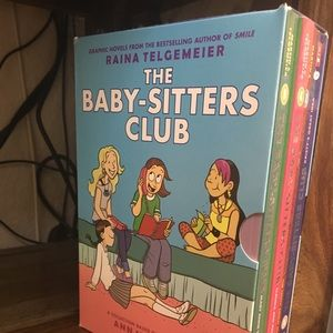 FOUR BABYSITTERS CLUB BOOKS